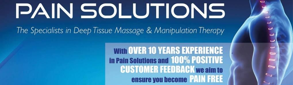 pain solutions ltd - for all your pain solutions including deep tissue massage in Frodsham