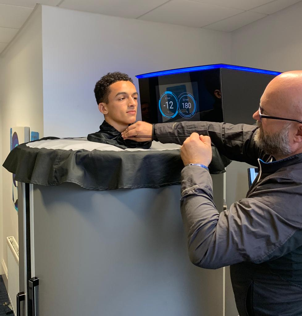Cryotherapy in Warrington - North West Cryotherapy Chamber